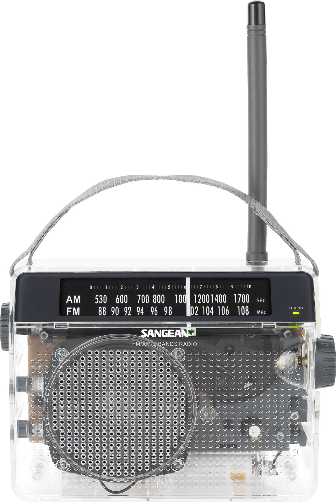 Pr-d6cl   Fm    Am Compact Analogue Tuning Portable Receiver